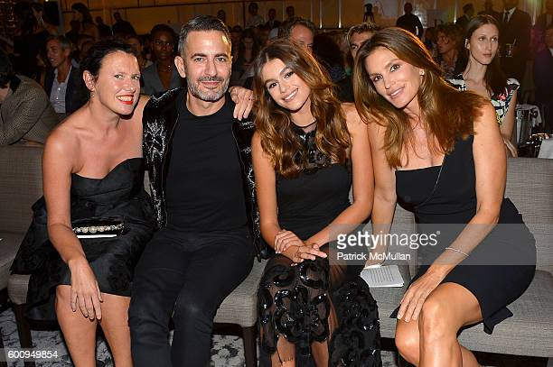 Katie Grand Marc Jacobs Kaia Gerber and Cindy Crawford attends the The Daily Front Row's 4th Annual Fashion Media Awards at Park Hyatt New York on...