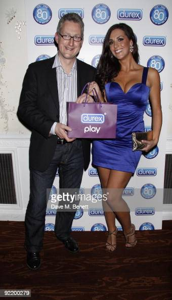 LONDON UNITED KINGDOM Katie Green Lembit Opik and other celebrities attended the celebration of 80 years of durex at sketch London On October 20 2009...