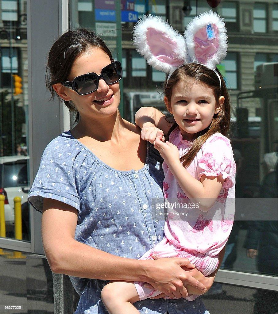 Celebrity Sightings In New York City - April 10, 2010