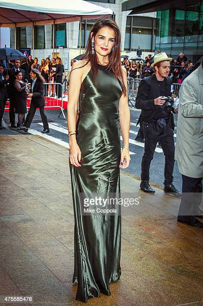 Katie Holmes arrives at the 2015 CFDA Fashion Awards at Alice Tully Hall at Lincoln Center on June 1 2015 in New York City