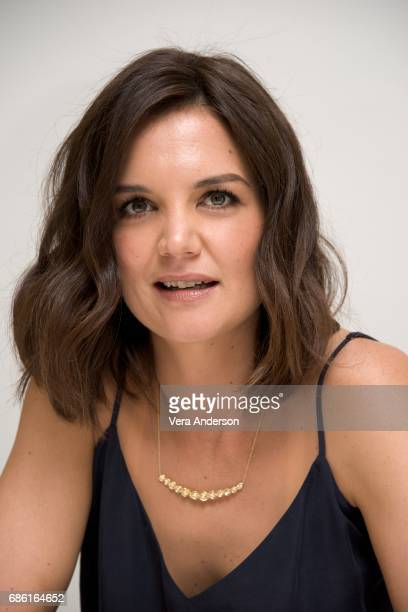 Katie Holmes at 'The Kennedys After Camelot' Press Conference at the Four Seasons Hotel on May 18 2017 in Beverly Hills California