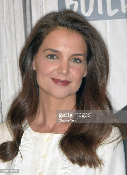Katie Holmes attends Build series to discuss 'The Kennedys After Camelot' at Build Studio on March 30 2017 in New York City