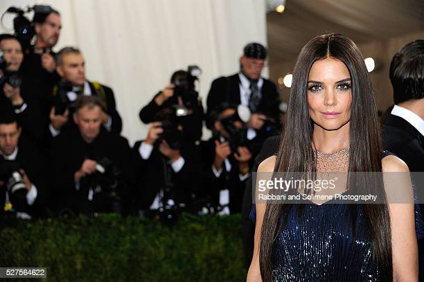 Katie Holmes attends 'Manus x Machina Fashion In An Age Of Technology' Costume Institute Gala at