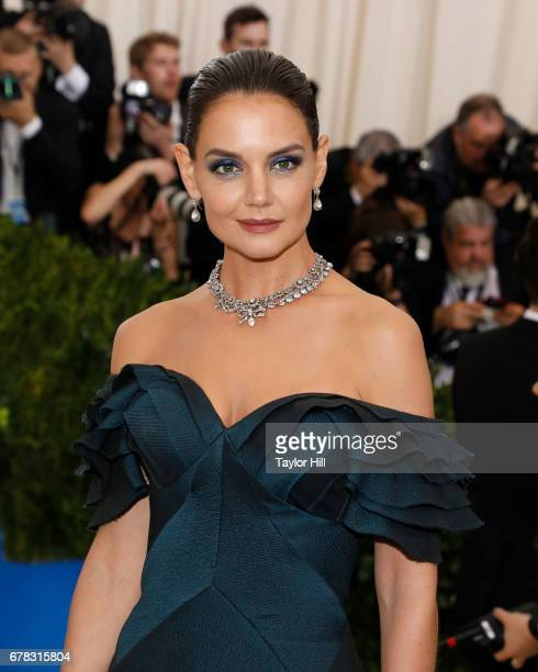 Katie Holmes attends 'Rei Kawakubo/Commes Des Garcons Art of the InBetween' the 2017 Costume Institute Benefit at Metropolitan Museum of Art on May 1...