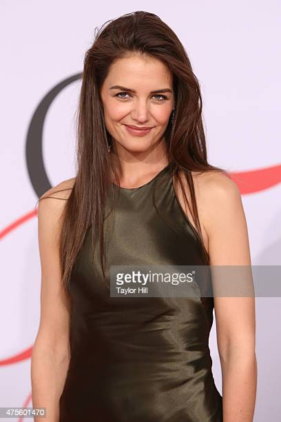 Katie Holmes attends the 2015 CFDA Awards at Alice Tully Hall at Lincoln Center on June 1 2015 in New York City