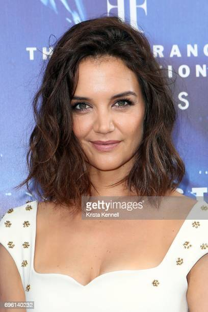 Katie Holmes attends the 2017 Fragrance Foundation Awardsat Alice Tully Hall at Lincoln Center on June 14 2017 in New York City