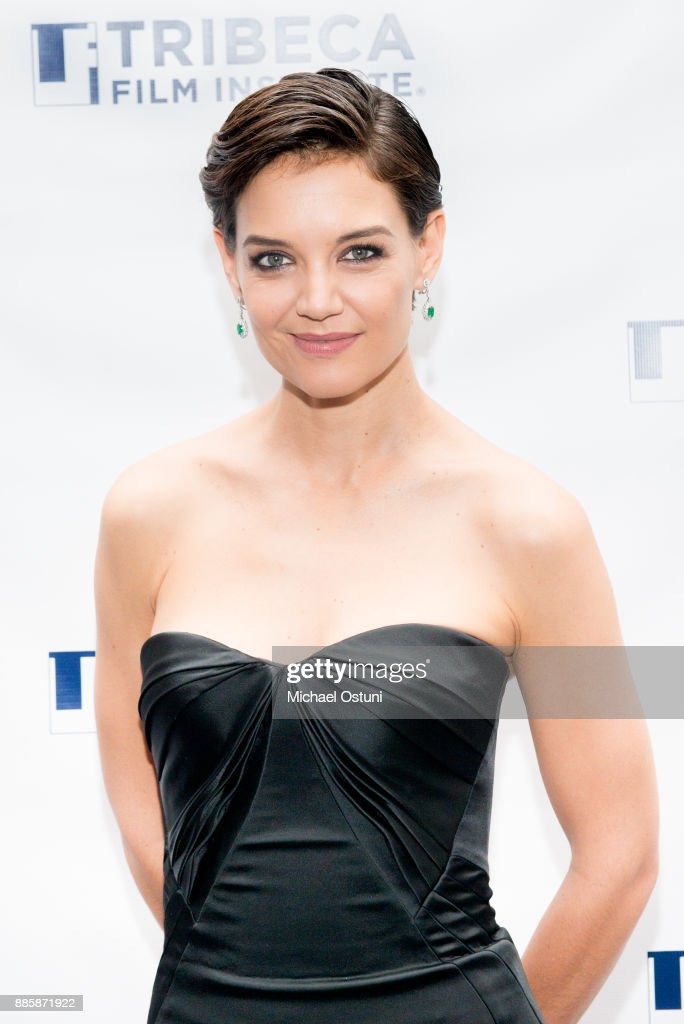 Katie Holmes attends the 20th Anniversary Screening Of 'Wag The Dog' at 92nd Street Y on December 4, 2017 in New York City.