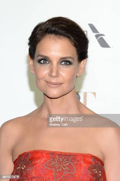 Katie Holmes attends the American Ballet Theatre Spring 2017 Gala at The Metropolitan Opera House on May 22 2017 in New York City