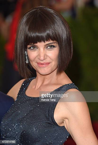 Katie Holmes attends the 'China Through The Looking Glass' Costume Institute Benefit Gala at Metropolitan Museum of Art on May 4 2015 in New York City