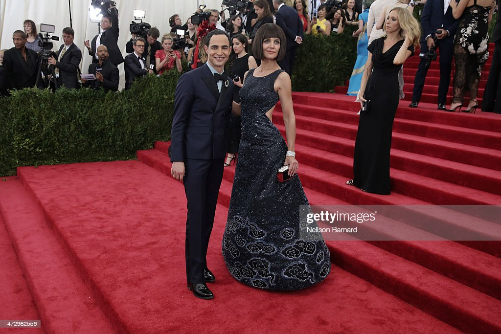 Katie Holmes attends the 'China: Through The Looking Glass' Costume Institute Benefit Gala at the Metropolitan Museum of Art on May 4, 2015 in New York City.