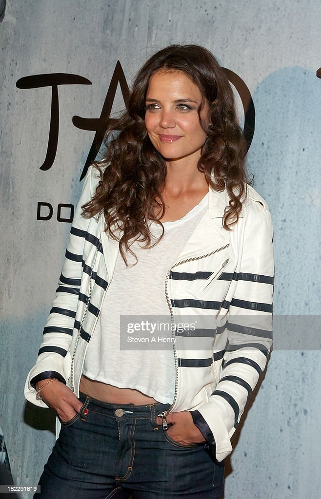 <a gi-track='captionPersonalityLinkClicked' href=/galleries/search?phrase=Katie+Holmes&family=editorial&specificpeople=201598 ng-click='$event.stopPropagation()'>Katie Holmes</a> attends the grand opening of TAO Downtown on September 28, 2013 in New York City.