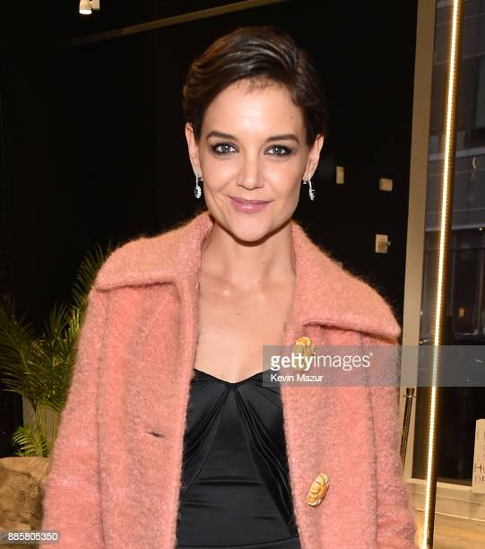 Katie Holmes attends the Prive Reveaux eyewear flagship launch on December 4 2017 in New York City