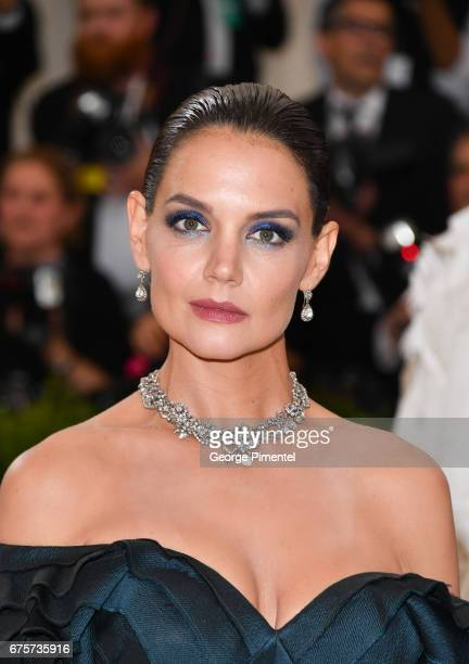 Katie Holmes attends the 'Rei Kawakubo/Comme des Garcons Art Of The InBetween' Costume Institute Gala at Metropolitan Museum of Art on May 1 2017 in...