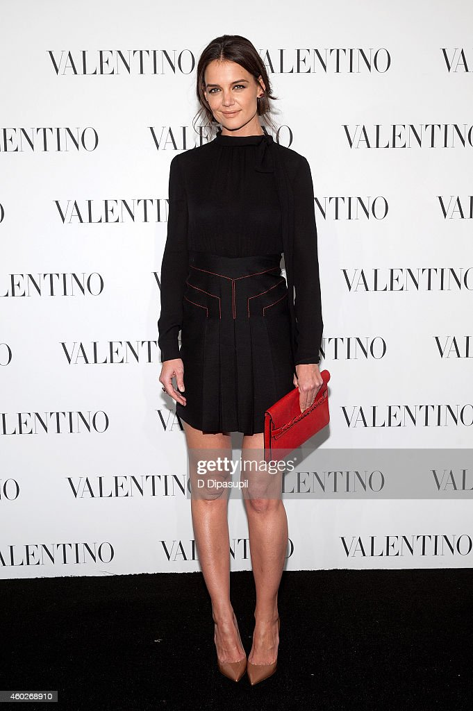 <a gi-track='captionPersonalityLinkClicked' href=/galleries/search?phrase=Katie+Holmes&family=editorial&specificpeople=201598 ng-click='$event.stopPropagation()'>Katie Holmes</a> attends the Valentino Sala Bianca 945 Event on December 10, 2014 in New York City.