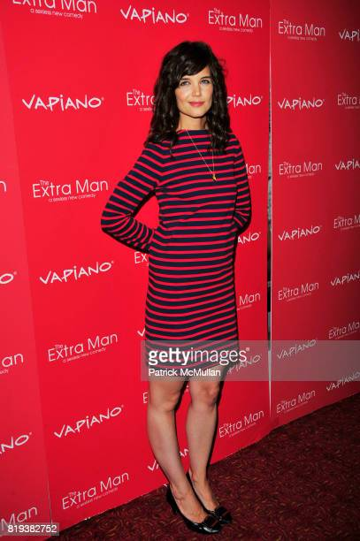 Katie Holmes attends Vapiano hosts the New York Premiere of THE EXTRA MAN red carpet arrivals and afterparty at Village East Cinema and Vapiano NYC...