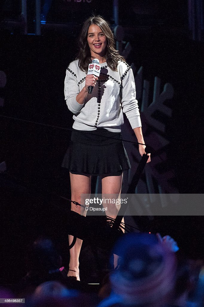<a gi-track='captionPersonalityLinkClicked' href=/galleries/search?phrase=Katie+Holmes&family=editorial&specificpeople=201598 ng-click='$event.stopPropagation()'>Katie Holmes</a> attends Z100's Jingle Ball 2013 at Madison Square Garden on December 13, 2013 in New York City.