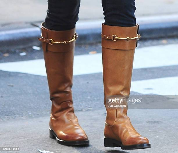 Katie Holmes is seen in Midtown on November 16 2013 in New York City
