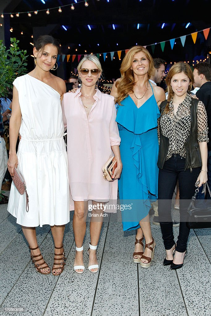Katie Holmes Naomi Watts Connie Britton and Anna Kendrick attend Summer Party on The Highline presented by Coach at High Line Park on June 11 2013 in...