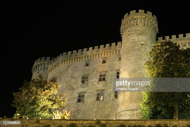 Katie Holmes room is the first left down window of Odescalchi's castel