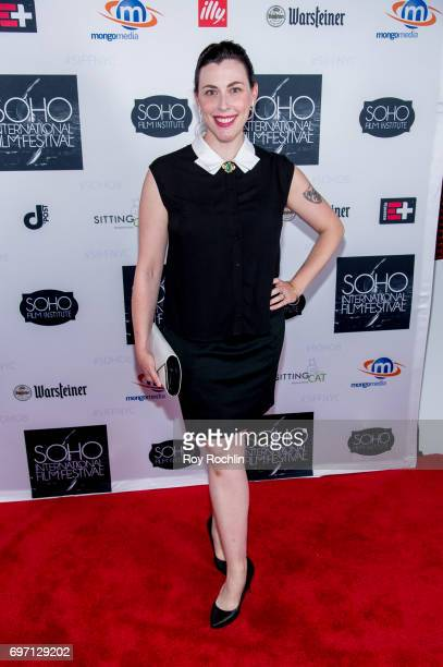 Katie Irish attneds the 2017 Soho Film Festival 'Landing Up' New York premiere at Village East Cinema on June 17 2017 in New York City