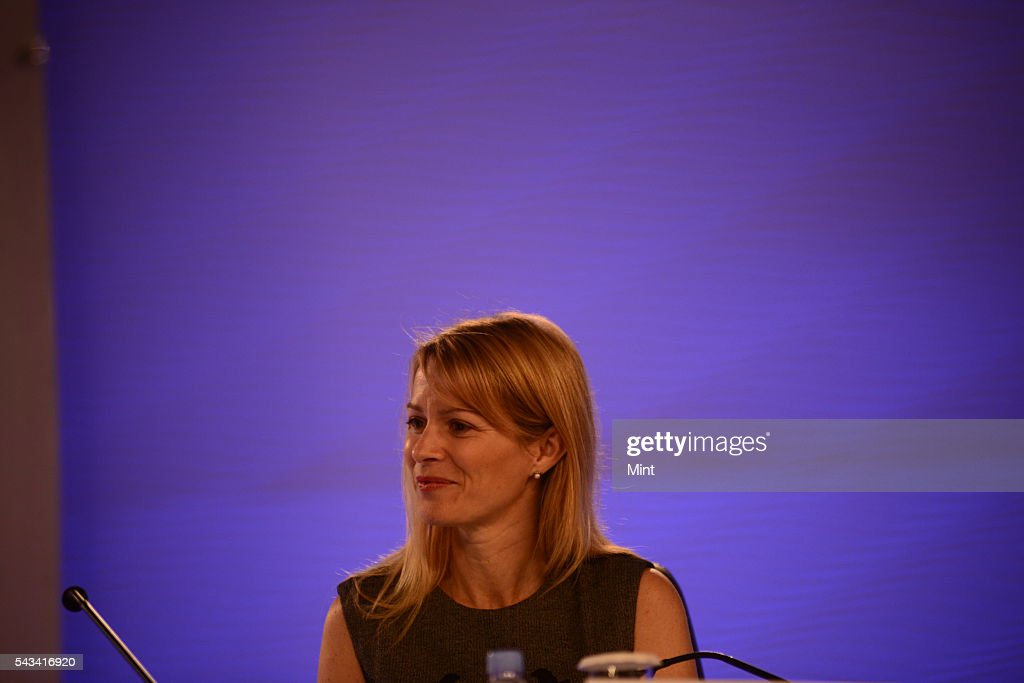 Katie Jacobs Stanton - Vice President of Global Media, Twitter speaking at HT leadership Summit on November 22, 2014 in New Delhi, India.