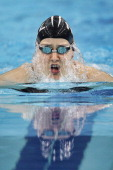 Katie Kenneally of New Zealand completes in Women's 200m Breaststroke Heat during Swimming Day Three of the 26th Summer Universiade at Universiade...