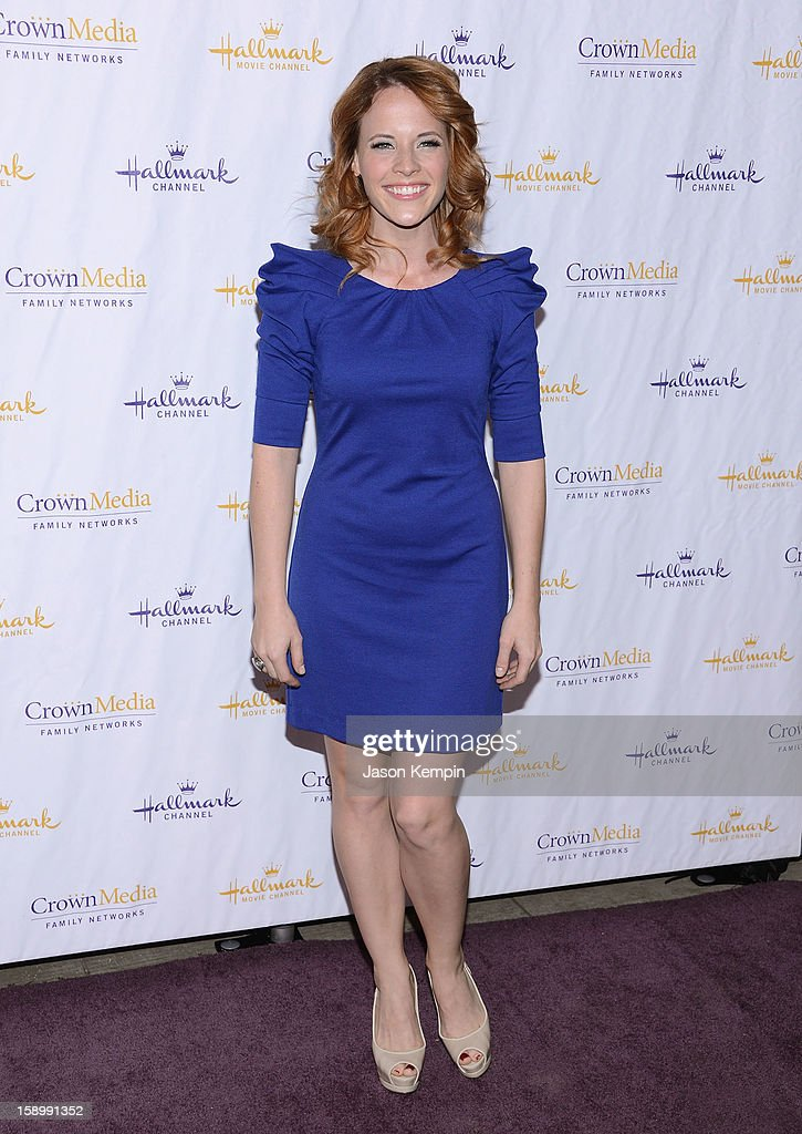 Katie Leclerc attends the Hallmark Channel and Hallmark Movie Channel's '2013 Winter TCA' Press Gala at The Huntington Library and Gardens on January 4, 2013 in San Marino, California.