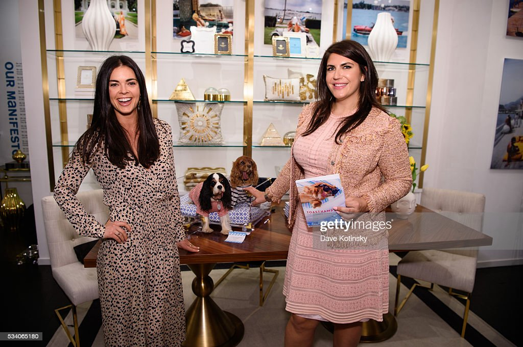 Katie Lee and Katie Sturino attend the Jonathan Adler Toasts @ToastMeetsWorld At The Launch Of TOASTHAMPTON on May 24, 2016 in New York City.