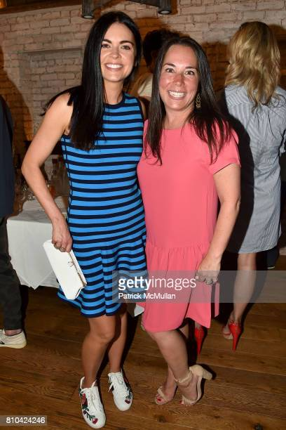Katie Lee and Samantha Yanks attend eBay Hosts July 4th Benefit for Sag Harbor Cinema Restoration Project at Lulu Kitchen and Bar on July 3 2017 in...