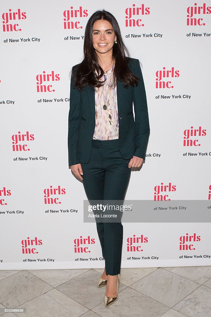 Katie Lee attends '2016 Girls Inc Spring Luncheon' at The Metropolitan Club on April 28, 2016 in New York City.