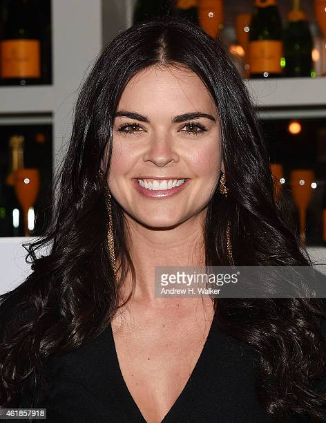 Katie Lee attends 'Clicquot in the Snow Clicquot Chalet Edition' at The Standard Biergarten on January 20 2015 in New York City