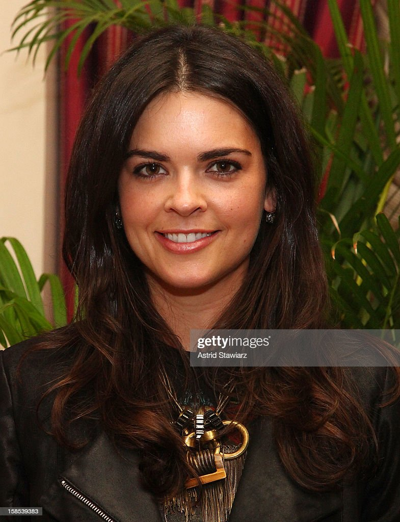 Katie Lee attends Derek Blasberg For Opening Ceremony Stationery Launch Party at Saint Regis Hotel on December 18, 2012 in New York City.