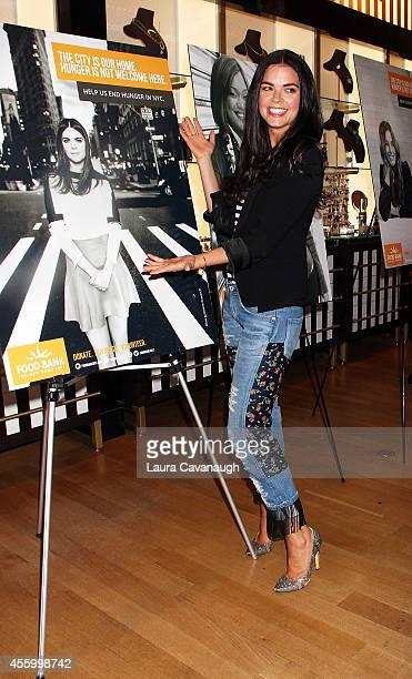 Katie Lee attends Shop 'Til You Drop For Go Orange To End Hunger Benefit at Henri Bendel Boutique on September 23 2014 in New York City