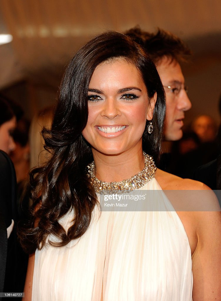 Katie Lee attends the 'Alexander McQueen: Savage Beauty' Costume Institute Gala at The Metropolitan Museum of Art on May 2, 2011 in New York City.
