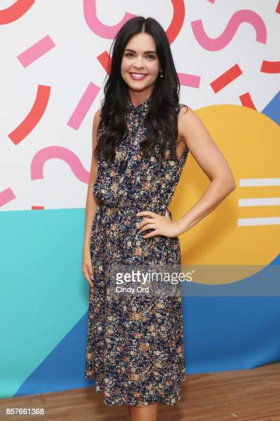 Katie Lee attends the Brit Co Kicks Off Experiential PopUp #CreateGood with Allison Williams and Daphne Oz at Brit Co on October 4 2017 in New York...
