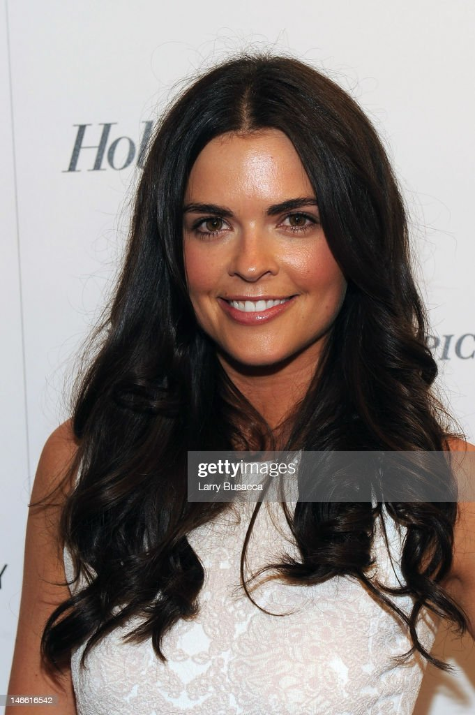 Katie Lee attends the Cinema Society with The Hollywood Reporter & Piaget and Disaronno special screening of 'To Rome With Love' at the Paris Theatre on June 20, 2012 in New York City.