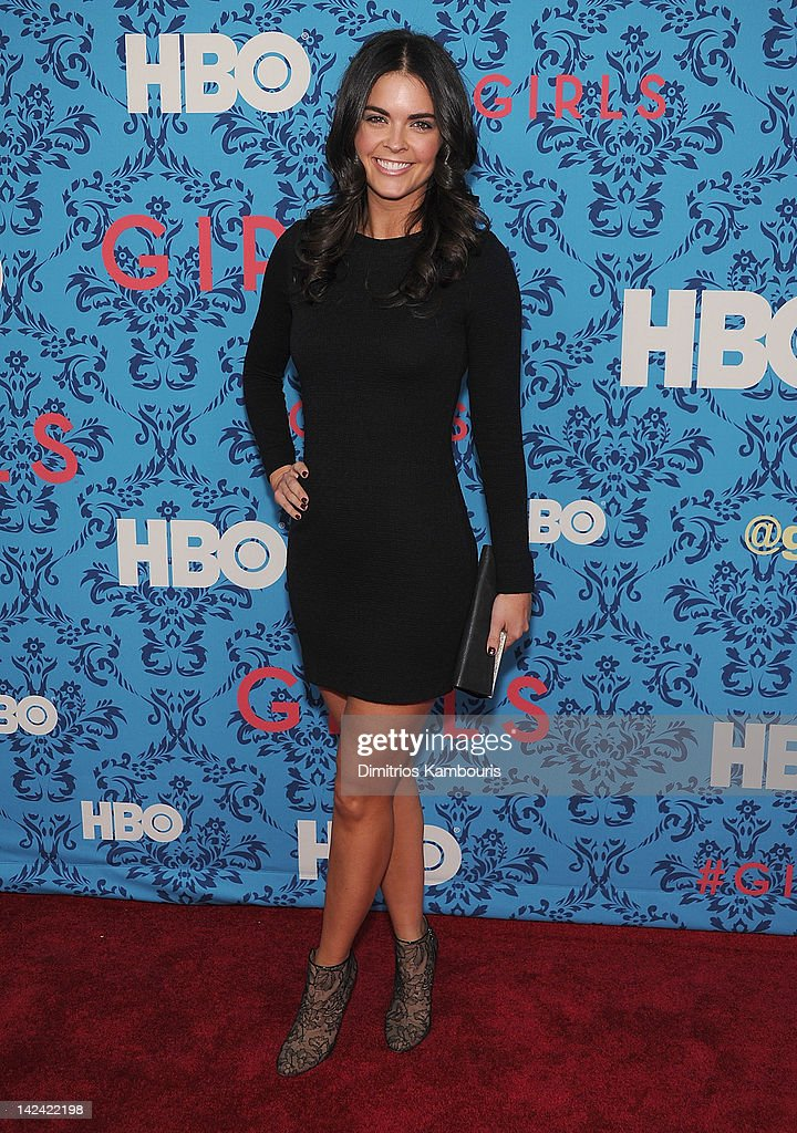 Katie Lee attends the HBO with the Cinema Society host the New York premiere of HBO's 'Girls' at the School of Visual Arts Theater on April 4, 2012 in New York City.