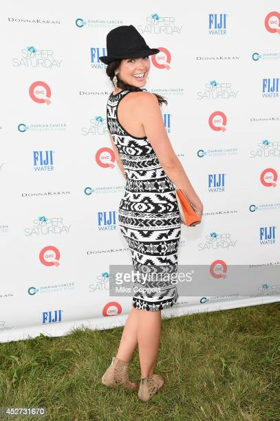 Katie Lee attends the OCRF's 17th Annual Super Saturday Hosted By Kelly Ripa And Donna Karan on July 26 2014 in New York City