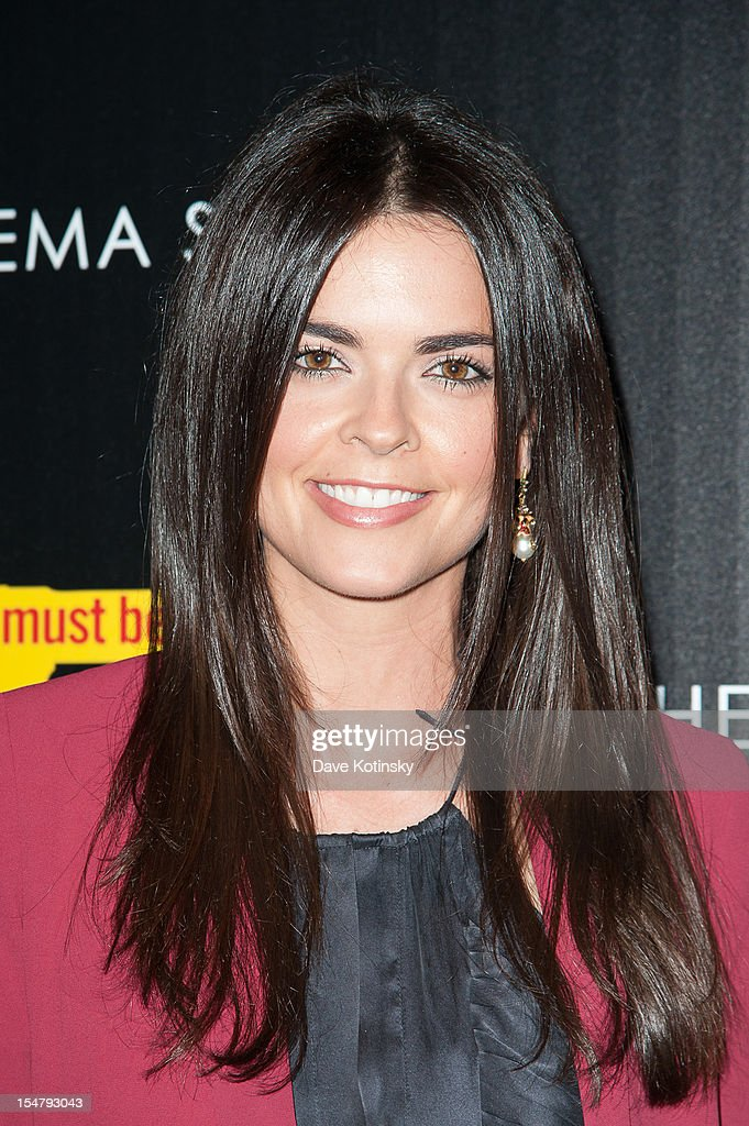 Katie Lee attends The Weinstein Company With The Cinema Society And Tumi Host A Screening Of 'This Must Be the Place' at Tribeca Grand Hotel on October 25, 2012 in New York City.
