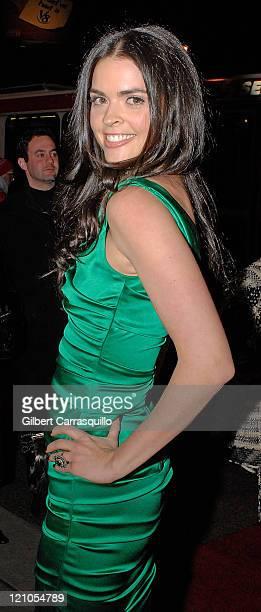 Katie Lee Joel attends Billy Joel headlines Philadelphia Orchestra Concert Gala on January 26 2008 at the Academy of Music in Philadelphia PA