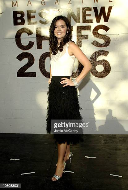 Katie Lee Joel during Food Wine Magazine Hosts The 2006 'Best New Chefs' Awards Ceremony and Party at The Battery Maritime Building in New York City...