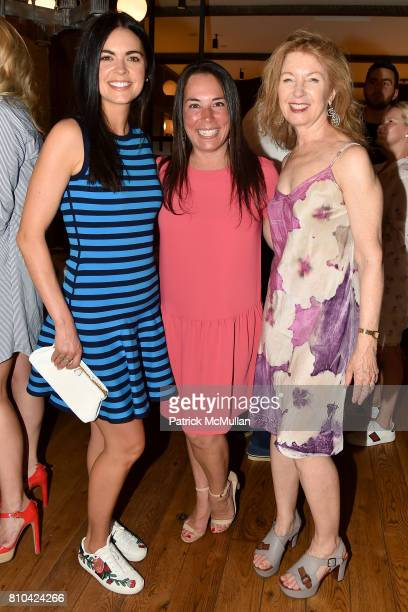 Katie Lee Samantha Yanks and April Gornik attend eBay Hosts July 4th Benefit for Sag Harbor Cinema Restoration Project at Lulu Kitchen and Bar on...