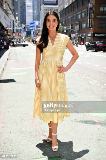 Katie Lee visits 'Extra' on June 1 2017 in New York City