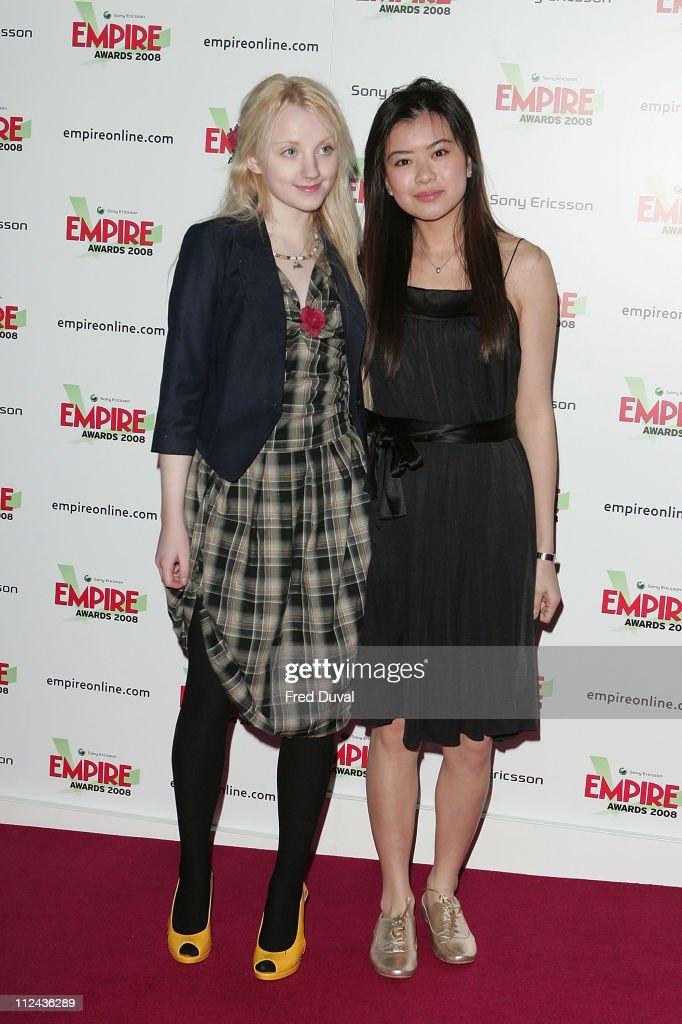 Empire Film Awards 2008 - Arrivals