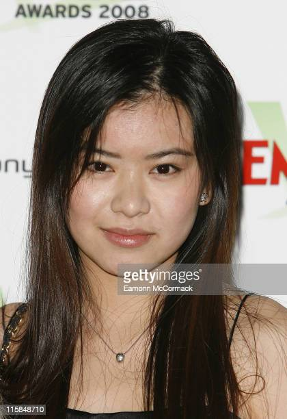 Katie Leung attends the Sony Ericsson Empire Awards 2008 at the Grosvenor House Hotel on March 09 2008 in London England
