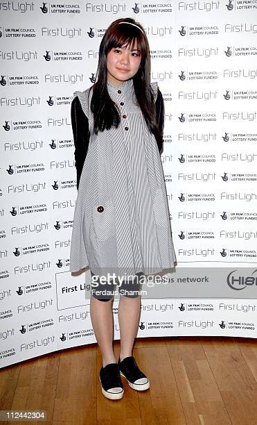 Katie Leung during First Light Movies Awards 2007 Photocall at Odeon West End in London Great Britain