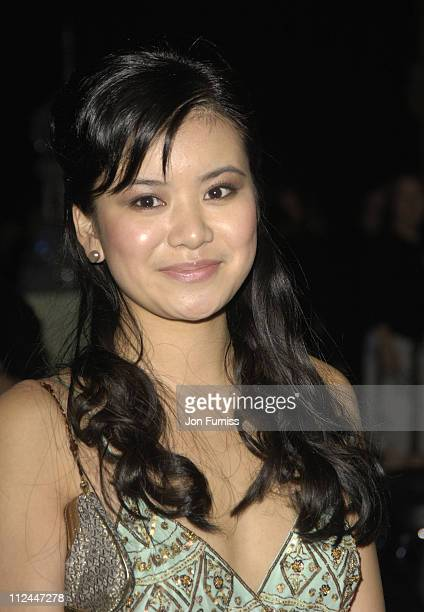 Katie Leung during 'Harry Potter and the Goblet of Fire' London Premiere After Party at Natral History Museum in London Great Britain