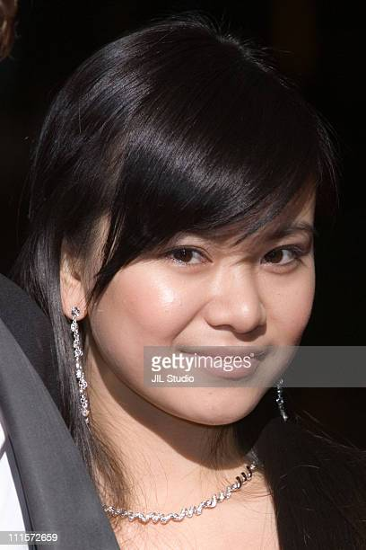 Katie Leung during 'Harry Potter and the Goblet of Fire' Tokyo Premiere Arrivals in Tokyo Japan