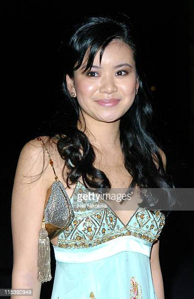 Katie Leung during 'Harry Potter and the Goblet of Fire' World Premiere After Party at Natural History Museum in London Great Britain