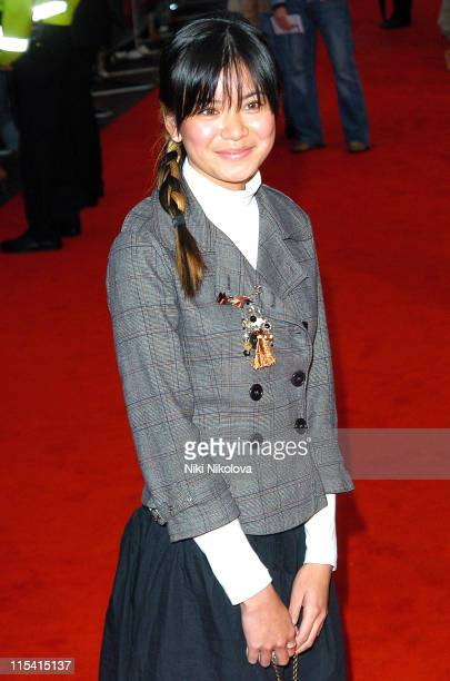 Katie Leung during 'The Dukes of Hazzard' London Premiere Arrivals at Vue Leicester Square in London Great Britain